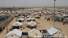 MOSUL, IRAQ - JULY 4: A general view of the Dibege Refugee Camp in the Makhmur district after around 2 thousand civilians have fled areas recently liberated by the Iraqi army after the intensification of operations in the Daesh-controlled areas in the south of Mosul, Iraq on July 4, 2016. Hemn Baban / Anadolu Agency