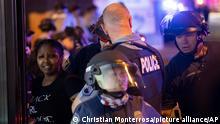 Protest in Minneapolis nach Tod von Afroamerikaner bei Polizeieinsatz