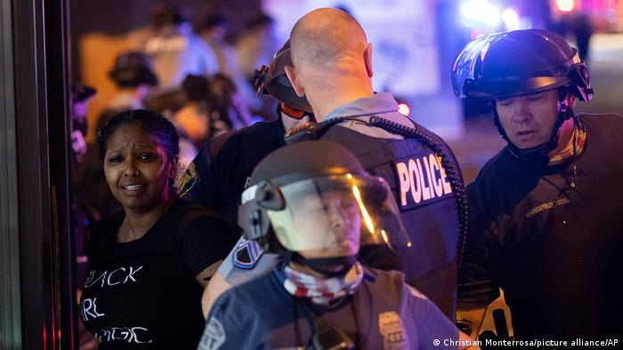 Полиция в Миннеаполисе