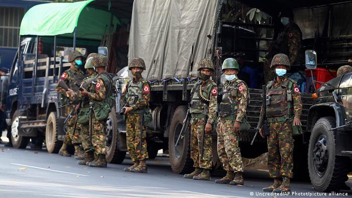 Myanmar  Militär   Yangon