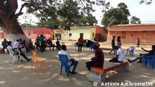 Angola, Bengo // Aktivisten bereiten sich fuer Wahl in Angola vor // Veranstaltung Bengo