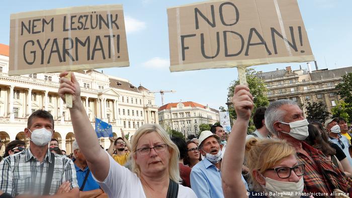 Proteste in Ungarn