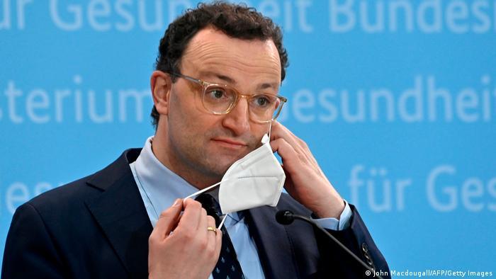 Deutschland Kabinettssitzung Coronavirus Jens Spahn