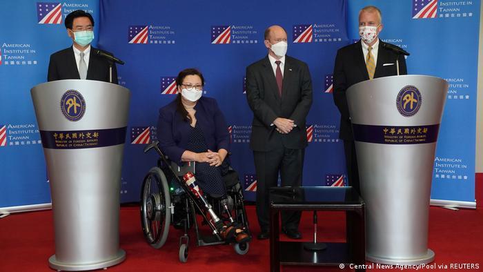 US-Senatoren besuchen Taiwan