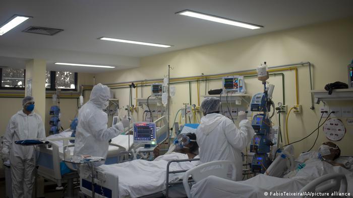 Brasil tem 187 mortes por covid-19 em 24 horas