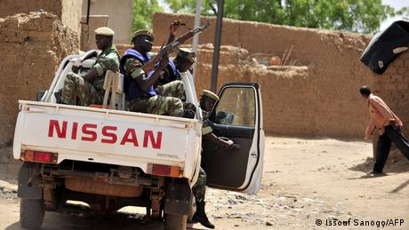 <div>Burkina Faso: 'Terror is a big part of the economy'</div>