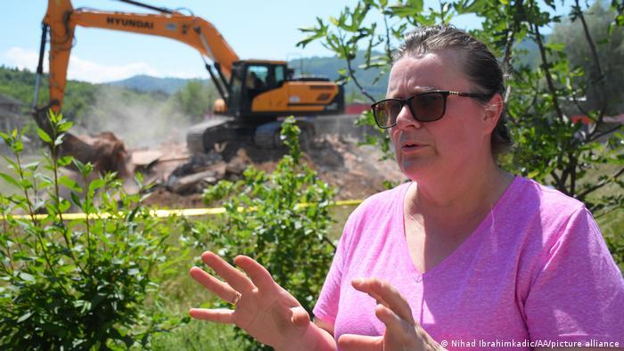 Bosnien Herzegowina Konjevic Polje Abriss Kirche
