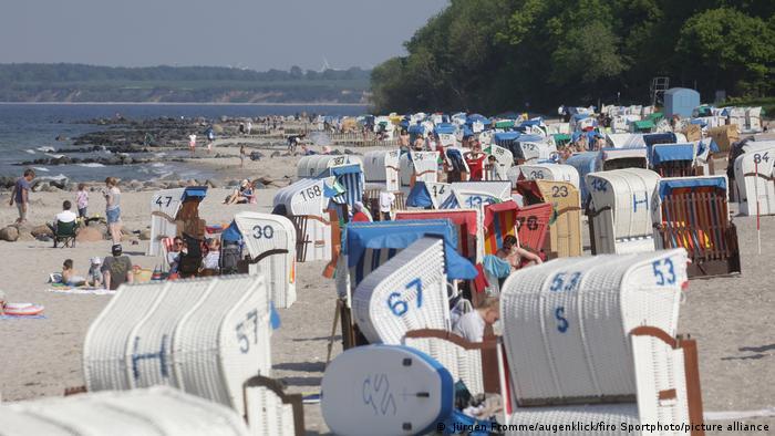 Deutschland Coronavirus Pandemie Lockerungen Urlaub Ostsee