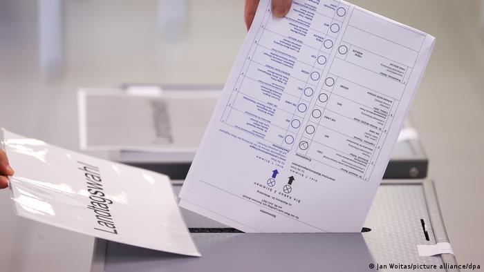 Voting has begun in Saxony-Anhalt