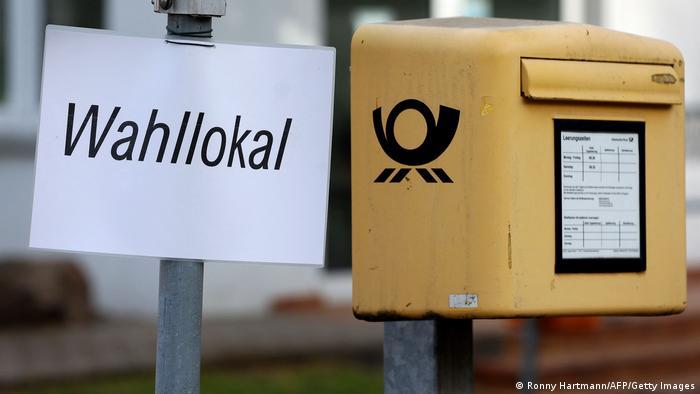 Magdeburg Wahllokal