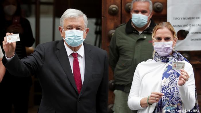 Foto del Andrés Manuel López Obrador