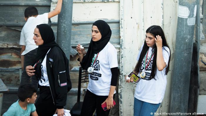 Israel Palästina Muna el-Kurd wegen Berichterstattung über gewaltsame Vorgänge durch israelische Siedler in Sheikh Jarrah festgenommen
