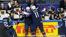 Eishockey WM Deutschland vs USA