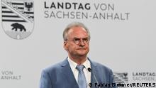 Landtagswahl in Sachsen-Anhalt Reiner Haseloff CDU