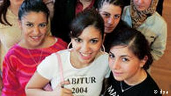 Group of Turkish young women