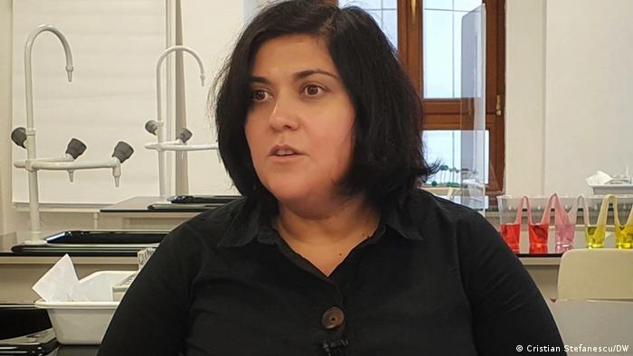 Profesoara de istorie Diana Gherasimiuc