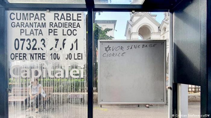 Inscripțiile rasiste și antisemite nu sunt o raritate la București