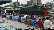 Pakistan Bahnhof