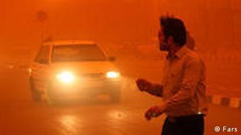 Staub und Böden letalen im Iran