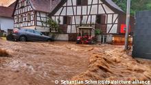 Deutschland Unwetter in Rheinland-Pfalz