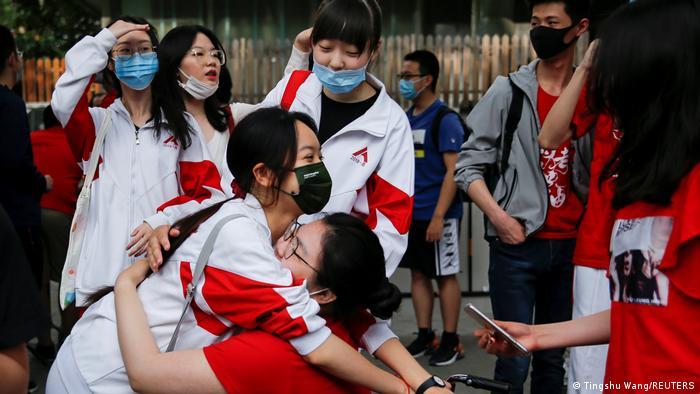 Weltspiegel 07.06.2021   China Peking   Gaokao-Aufnahmeprüfung