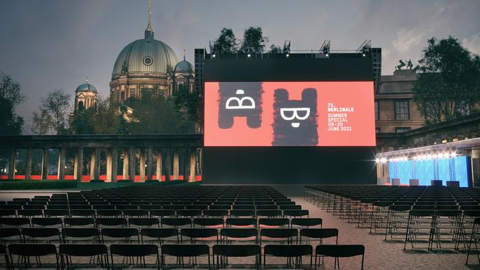 Freiluftkino Museumsinsel auf der Berlinale