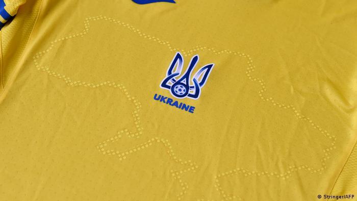 EURO 2020 Shirt des ukrainischen Fußballteams