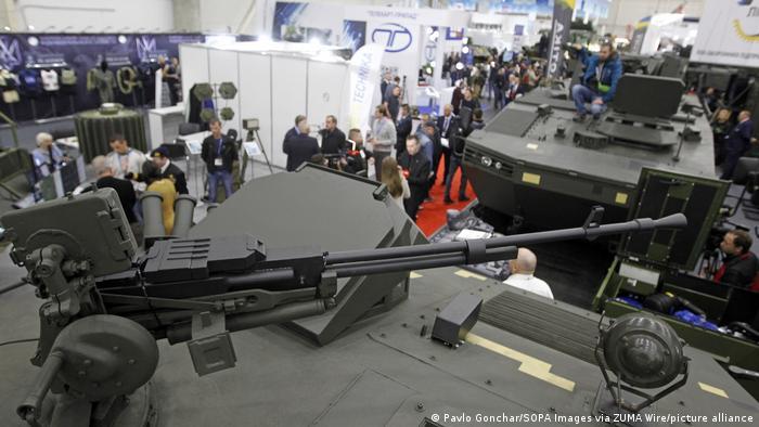 Ukraine Waffenausstellung