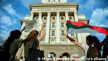 Thousands of people are gathered in the Bulgarian Capital of Sofia to protest against the corruption in Bulgaria. Anti-government protests are held in some of the biggest cities in Bulgaria against the Prime Minister Boyko Borissov, the rulling government and chief prosecutor. People are holding signs against Mafia and corruption in Bulgaria, Sofia, Bulgaria on July 14, 2020 (Photo by Hristo Rusev/NurPhoto)