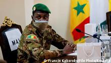 Mali Oberst Assimi Goita, Anführer der malischen Militärjunta