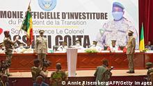 Mali |Amtseinführung Interimspräsident Assimi Goita
