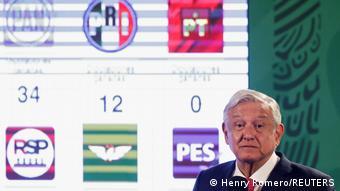 Mexiko PK Präsident Andres Manuel Lopez Obrador