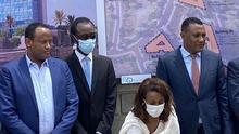 7.6.2021, Addis Abeba, Äthiopien, Bundespolizei führt neues System und neue Technologie zur Verbrechensbekämpfung ein. Redaktion: Mantegaftot Sileshi Siyoum