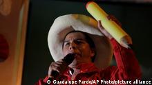 Peru Wahlen Wahlkampf Pedro Castillo