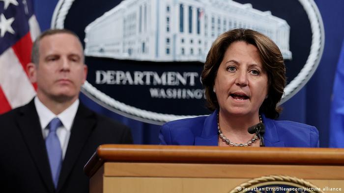 Washington General Lisa Monaco Ransomware Attacke Colonial Pipeline