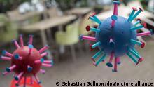 Weltspiegel 08.06.2021 | Corona |Deutschland Frankfurt am Main | Restaurant, Virusmodelle