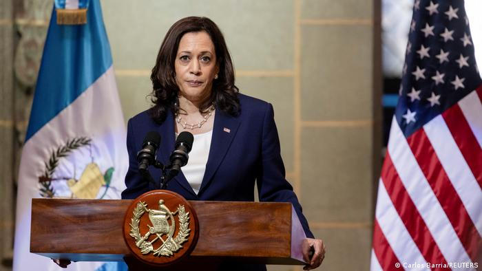 Kamala Harris, vicepresidenta de Estados Unidos.