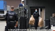 Deutschland Großangelegter Polizeieinsatz wegen Drogenkriminalität