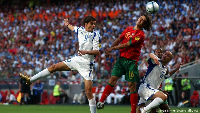 Finala EURO 2004: Grecia - Portugalia