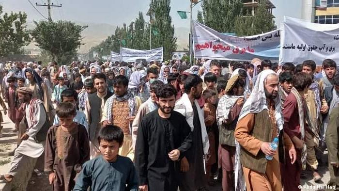 Afghanistan Badachschan Provinz   Faizabad Proteste