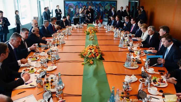 Deutschland Westbalkan-Konferenz 2014 Berlin