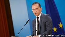 German Foreign Minister Heiko Maas holds a news conference in Berlin, Germany, June 8, 2021. REUTERS/Axel Schmidt/Pool