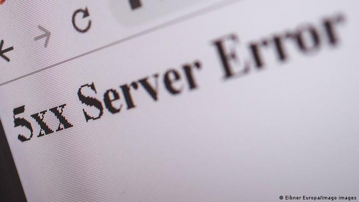 Symbolbild server error