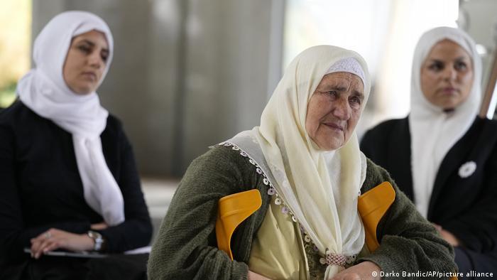 U Potočarima su majke s pažnjom pratile prijenos iz Haaga