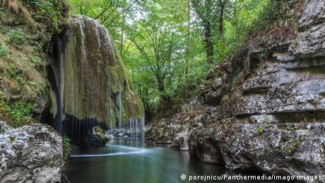Cascada Bigăr (înainte de prăbușire)