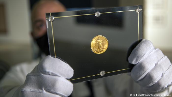 Монета Подвійний орел - найдорожча у світі