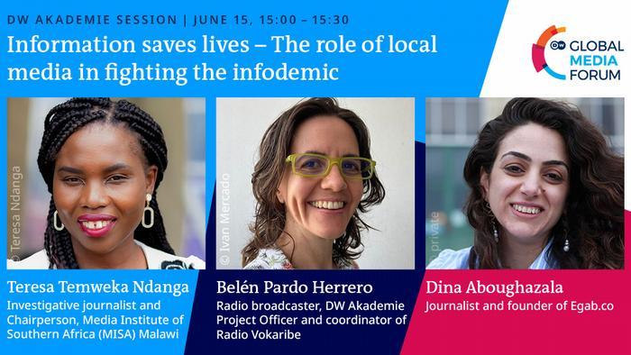 MF 2021 Panel DW Akademie Information saves lives Speaker