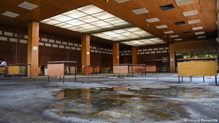 Nord-Mazedonien National- und Universitätsbibliothek in Skopje
