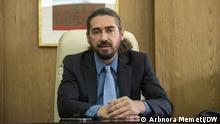 Skopje, Nordmazedonien, 08.06.2021+++ Der Direktor der National- und Universitätsbibliothek in Skopje, Frimzim Dauti (c) Arbnora Memeti / DW