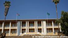 Parlament, Tintenpalast, Windhoek, Namibia, Afrika, Windhuk